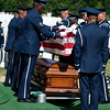 "Funeral of Clem Robert ""Bob"" Lawson USAF. Arlington National Cemetery, July 8, 2009"