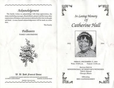 1932-2-29 ~ 2004-12-12 Catherine Hall   {Moma}2