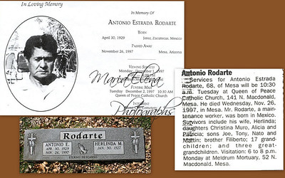 Antonio is my fathers brother-in-law he was married to y fathers sister Herlinda.