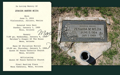 Zenaida was my aunt she was married to Marcos Domingo.
