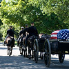 "Funeral procession of Clem Robert ""Bob"" Lawson USAF. Arlington National Cemetery, July 8, 2009"