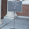 """Old Post Chapel, Ft. Myer funeral of Col Clem Robert """"Bob""""  Lawson USAF, July 8, 2009"""