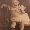 Doris Laverne Rowlett, born to Frederick Putnam Rowlett and Ester Beatrice Eernissee at home in Houston, Texas, on March 4, 1922.  In this photo, she is about two.
