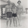 Ory, Woody and Doris Jenkins during a vacation trip to Pensacola Beach, Florida, in 1956.