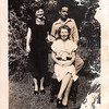 DORIS ROWLETT JENKINS and Ory Jenkins with Doris' mom Beatrice Rowlett, after they were married in 1946.