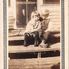 "Doris Rowlett and her favorite uncle, Frank Eernisse.  In this photo circa 1925, Doris is about three.   In 1944, Frank took Doris to a dance where she met ""a handsome sailor"" named Ory Jenkins of Ponchatoula, LA.  They were married two years later."