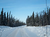 On the James Bay Winter Road between Moosonee and Fort Albany.