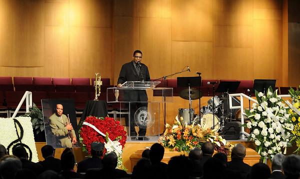 Freddie Hubbard's Memorial Service 1/6/2009