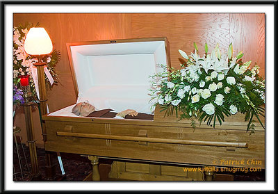 Funeral services of Daw Tin Kyi, July 14, 2006