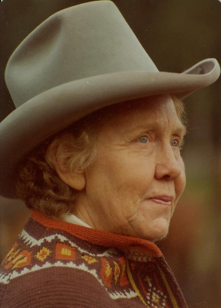 Mother - Jennie Virginia Bramwell.  'Gina to her sisters.  A true Colorado Native western lady.
