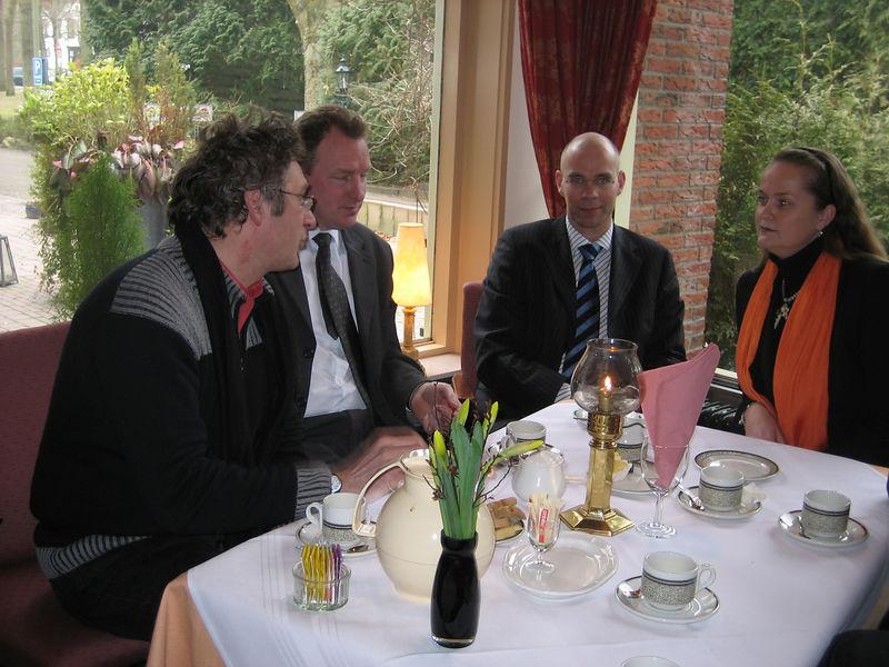 George, Egon, Gerlof, Josée
