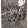 John & Marilyn playing cowboy - 1939