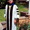 John Dixon Graduation at MSU with PhD 1975