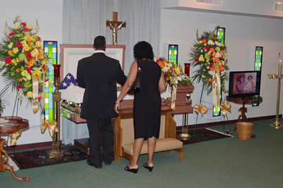 Karl Wellington Homegoing Photos