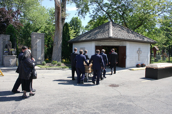 Funeral of Germaine Wisniewski