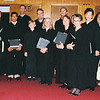 St Ann choir at the last Traditional Lation Mass at Our Lady of Peace church. Nancy Ritter, 4th from R, back row.