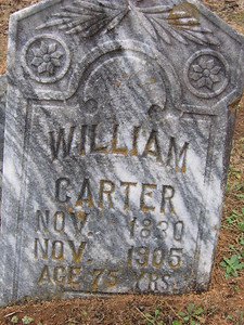 William headstone CU
