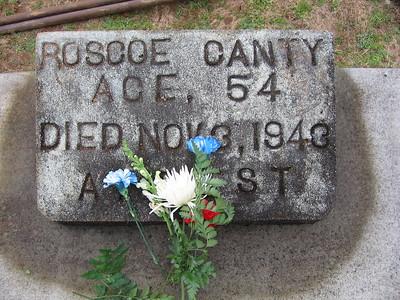 Canty Roscoe headstone
