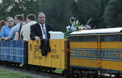 Jon Peter Terp - Final ride on the Centerville-South western 1503.