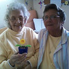 Sarah's mom, Margie and Margie's niece Gayle in Kentucky, Sarah's home state