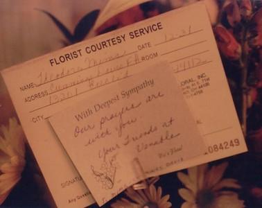 florist notice