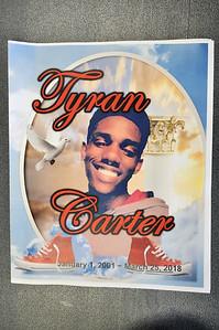 Tyran Carter RIP April 6, 2018