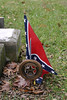 A Point Of Pride?<br /> The Un-civil Civil War Of Northern Aggression Between The States ended a long time ago, but this flag was freshly placed. Sigh.