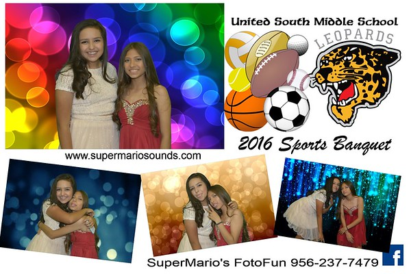 United South Middle Sports Banquet