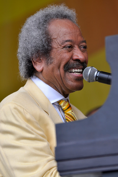 Allen Toussaint performing at the New Orleans Jazz & Heritage Festival on May 3, 2009.