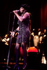 Anita Baker performs at the MGM Grand in Las Vegas in 1992.