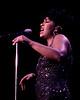 Anita Baker performs at the MGM Grand in Las Vegas in 1992.