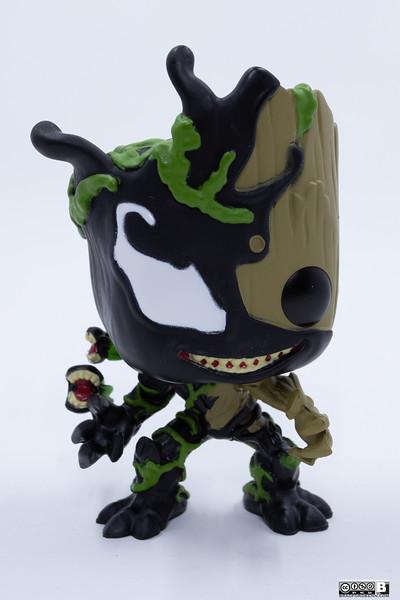 Funko Pop! Marvel: Marvel Venom - Groot, Multicolor