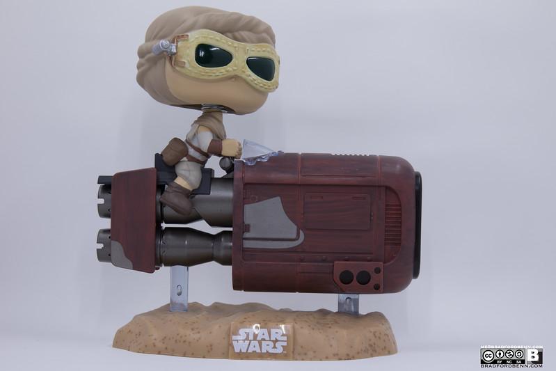Rey with Speeder