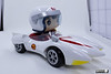 Funko Pop! Rides: Speed Racer - Speed with Mach 5, Multicolor