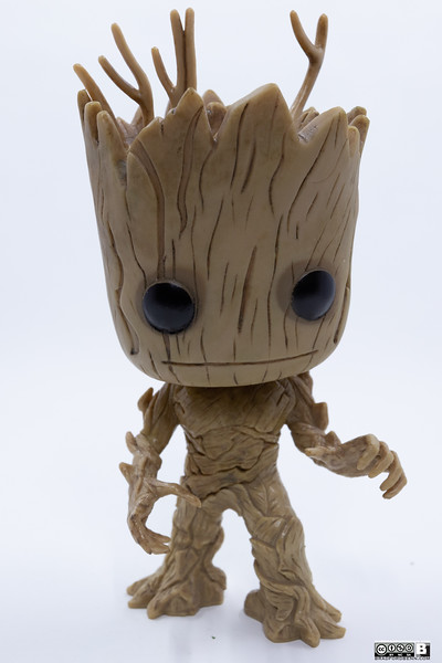 Funko POP Marvel: Guardians of The Galaxy - Groot Vinyl Bobble-Head Figure,Multi-colored,Onesize