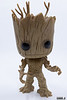 Funko POP Marvel: Guardians of The Galaxy - Groot Vinyl Bobble-Head Figure,Multi-colored,Onesize
