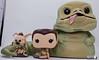 Jabba the Hutt with Slave Leia & Salacious B. Crumb