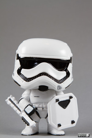 First Order Stormtrooper with Riot Shield
