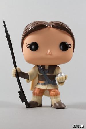 Princess Leia - Boushh (unmasked)