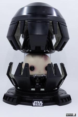 Darth Vader in Meditation Chamber