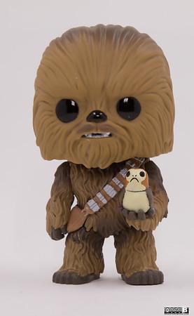 Chewbacca & Porg