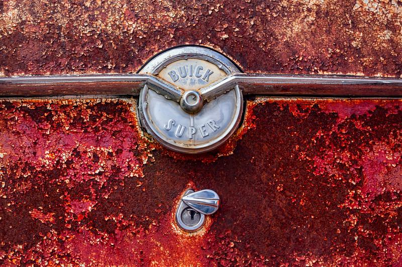1954 Buck Super Trunk Ornament and Lock