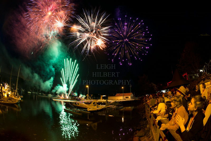 CANADA DAY CELEBRATIONS AT GANGES HARBOUR  - Salt Spring Island,BC - July 1st, 2014