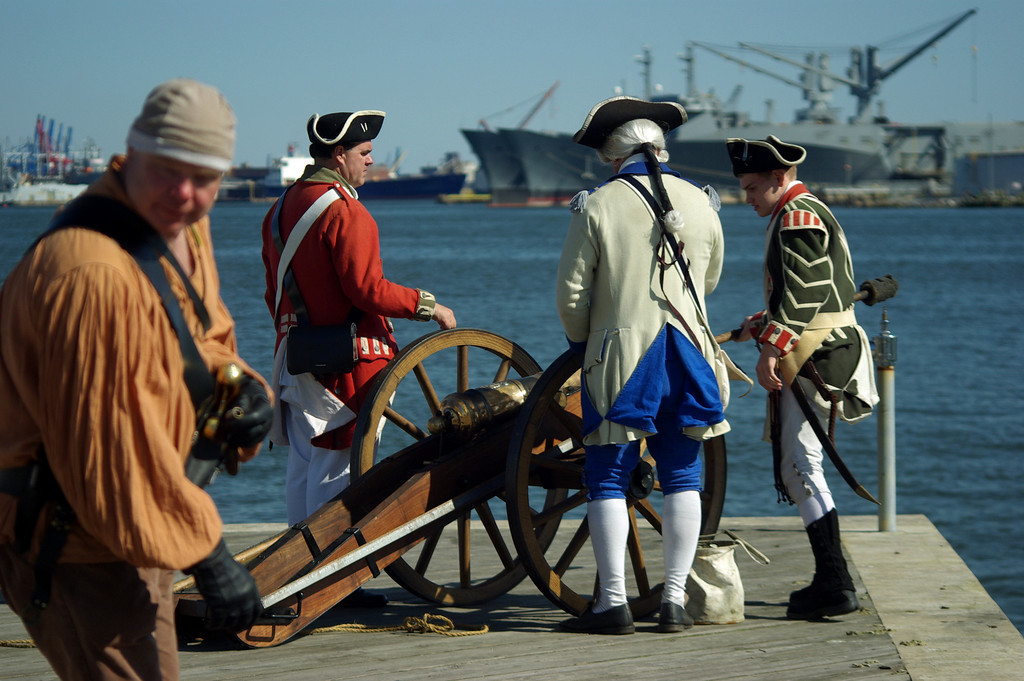 Privateer Day, Fell's Point, Baltimore, MD
