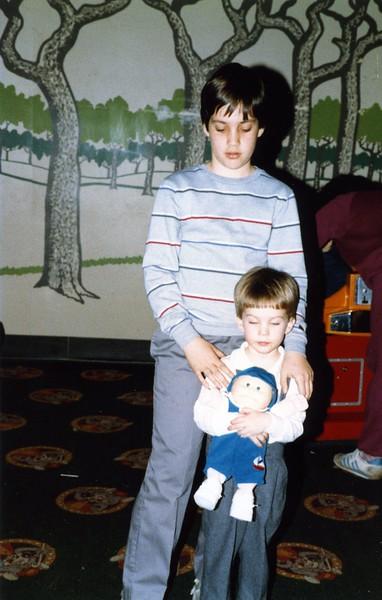 Scott's 3rd Birthday at Chuck E Cheese 3/21/85