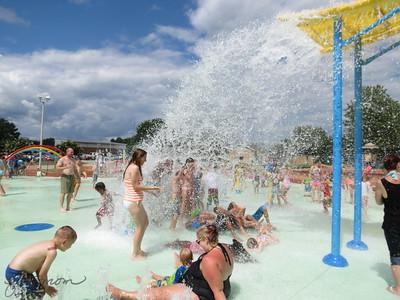 Fuquay Splash Park Grand Opening 071515