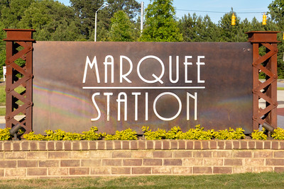 Marquee Station sign