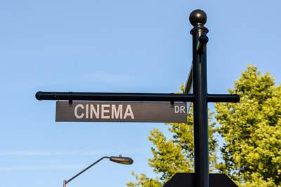 Cinema Drive street sign