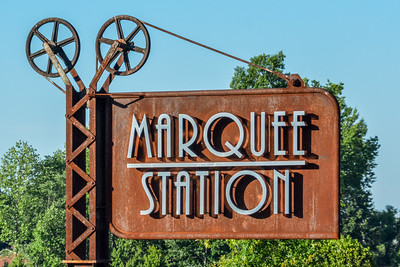 Marquee Station cinema sign