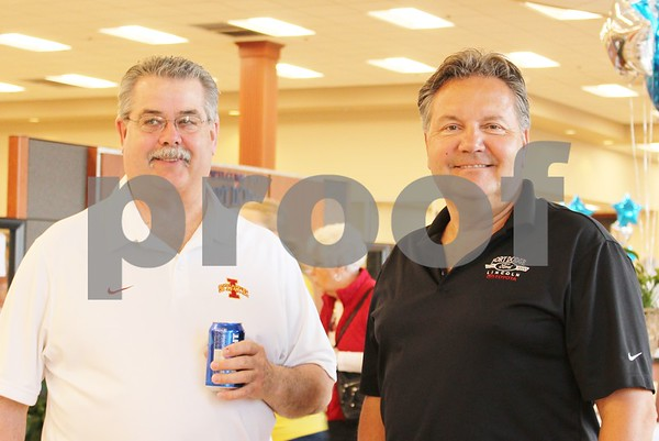 Rick Carlson and Casey Johnson